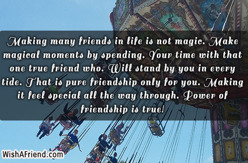 Making Many Friends In Life Is Best Friend Quote