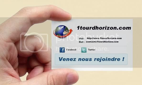 Carte de visite Tour d'Horizon
