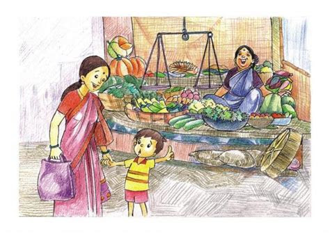 fair india  country drawings pictures drawings ideas
