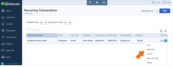 QuickBooks Product Bundle Accounting Feature - Better Control Over Recurring Transactions