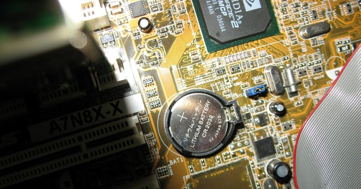 Cambiare la batteria tampone del pc desktop