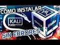 ▷ Cómo INSTALAR Kali Linux 2020.4 en VirtualBOX sin ERRORES
