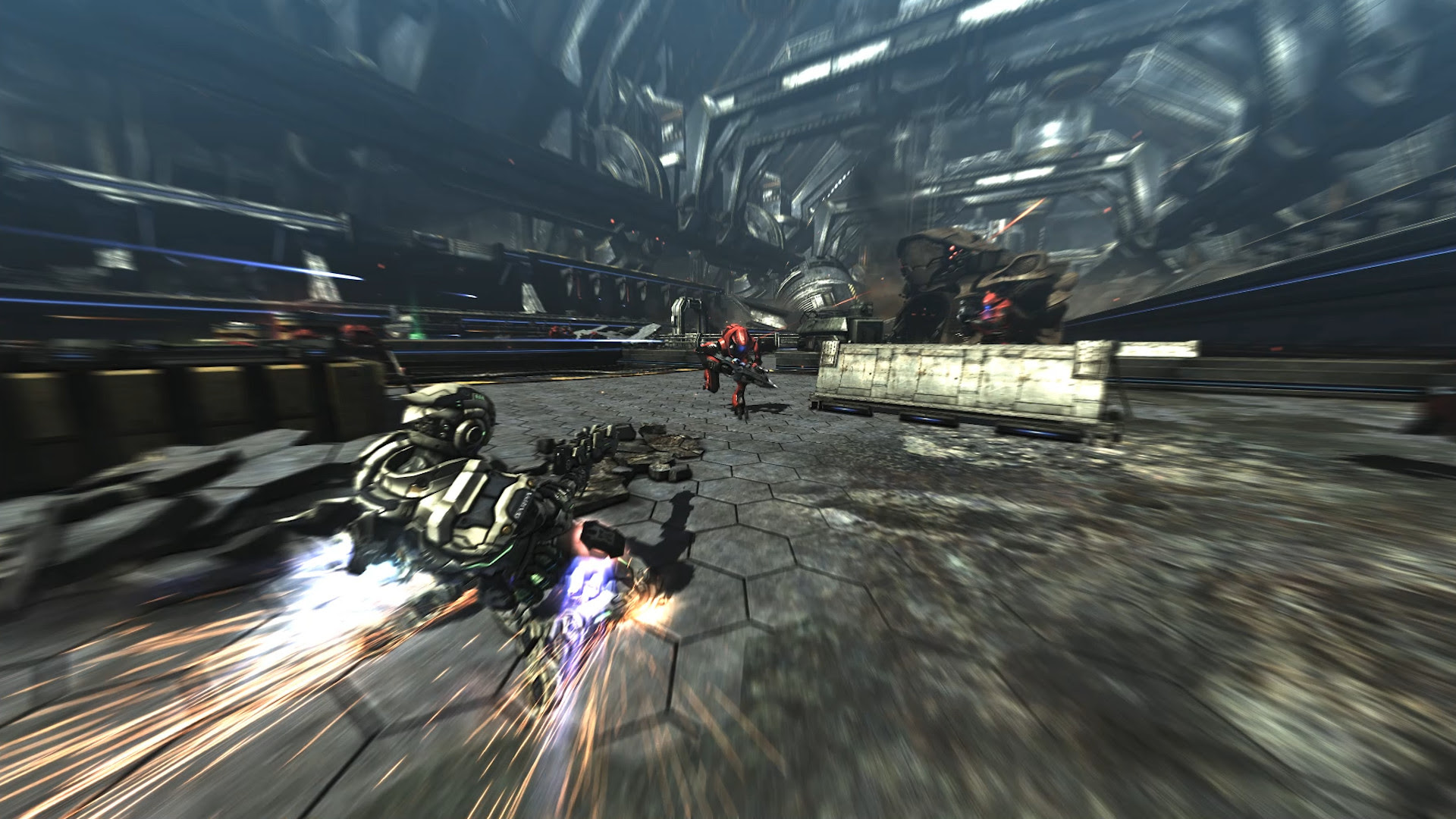 Review: Vanquish (PC) screenshot