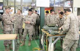Visita a las instalaciones de la Base