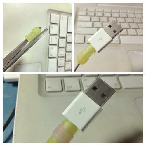 動手做 USB 保護套