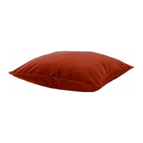 SANELA Cushion cover IKEA Cotton velvet with extra luster and softness; nice and soft against the skin.