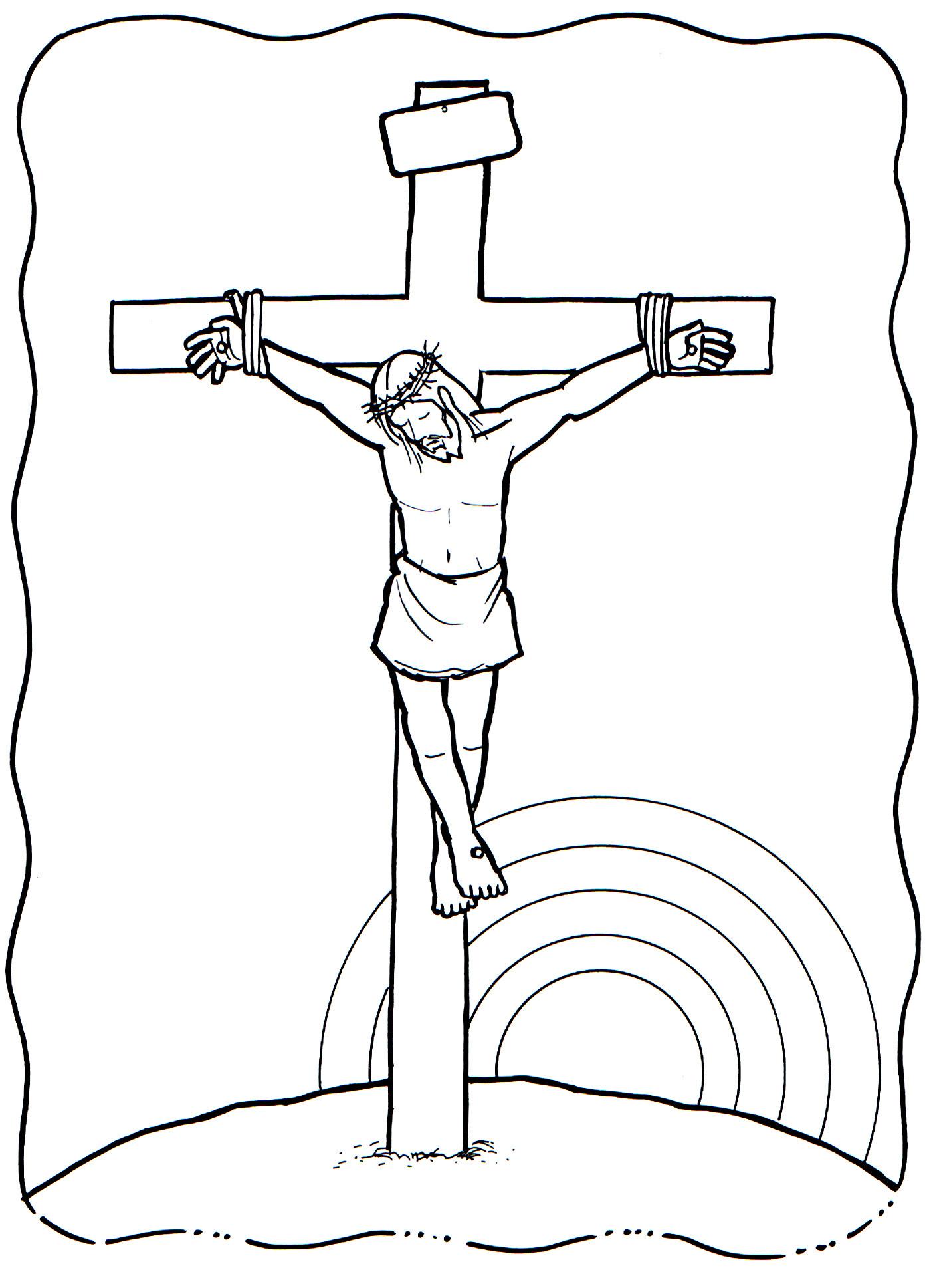 Viernes Santo Dibujos Para Colorear Imagesacolorierwebsite