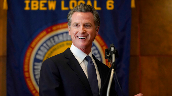 FOX BIZ NEWS: Silicon Valley split on California recall election