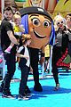 christina aguileras kids wear their emojis to emoji movie premiere 01