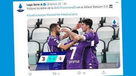 Hasil Klasemen Top Skor Liga Italia Setelah Juventus Kalah Crotone Menang Cristiano Ronaldo 12 Gol