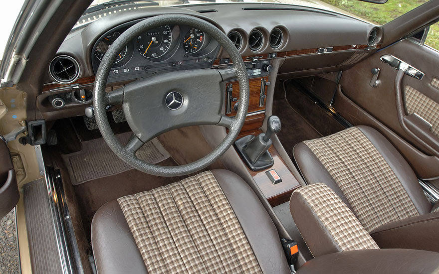 1980 Mercedes-Benz 350SL 4-speed manual | German Cars For ...