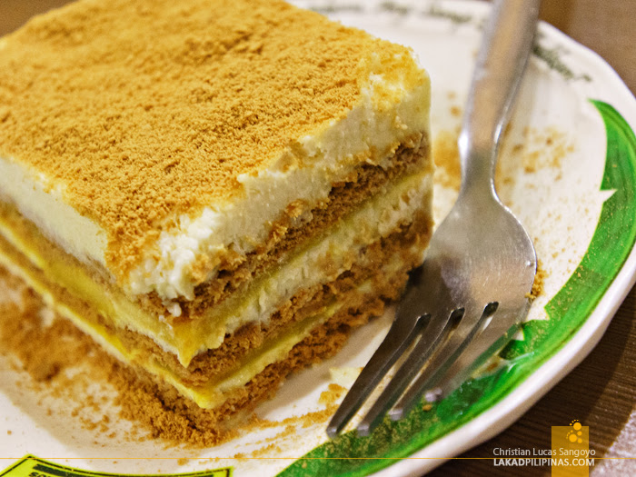 Mango Float at Tita Fannies Liempo and Chicken House