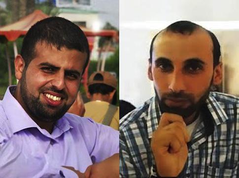Mahmoud al-Kumi, Hussam Salama / newseum.org