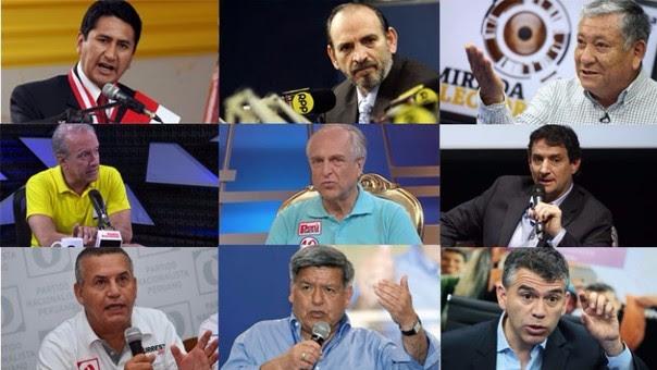 Candidatos que ya no están en la contienda electoral