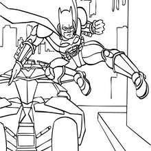 Dibujos Para Colorear Batman Listo Para La Batalla Eshellokidscom