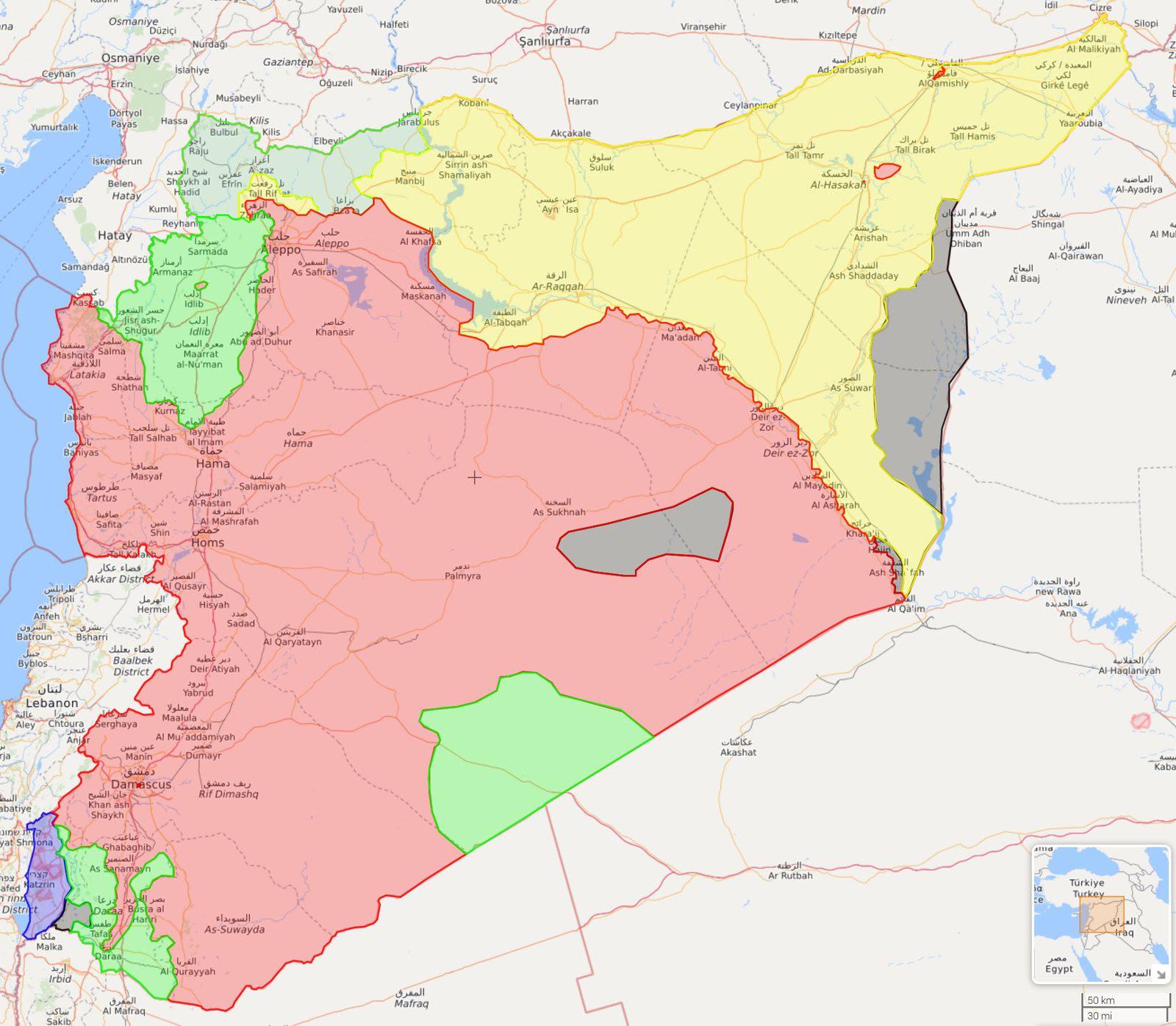 Rapport sur la situation en Syrie - Libérer la voie vitale de l'autoroute M5 (Moon of Alabama)