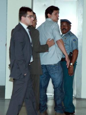 Fábio Capita é acusado de integrar consórcio montado para assassinar jornalista Décio Sá (Foto: O Estado)