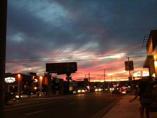 Scorching Sunset by Ayala Moriel