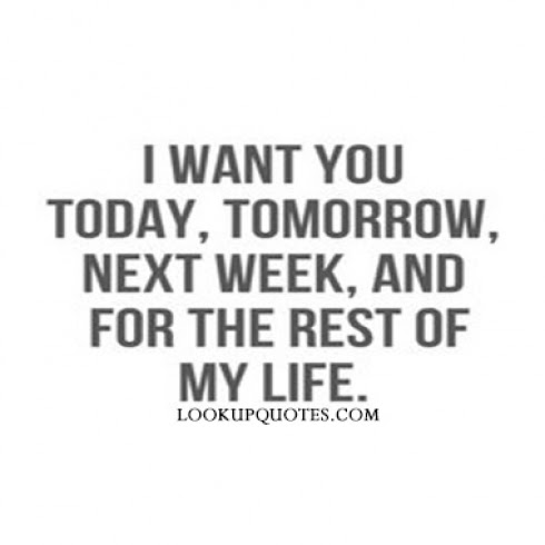 I Wanna Marry You Quotes