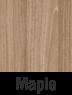 Muebles de madera en maple