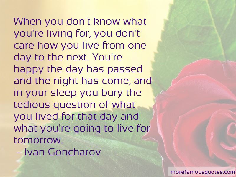 Live For Tomorrow Quotes Top 47 Quotes About Live For Tomorrow From