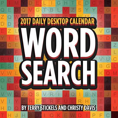 2017 Word Search Daily Desktop Calendar - JCPenney