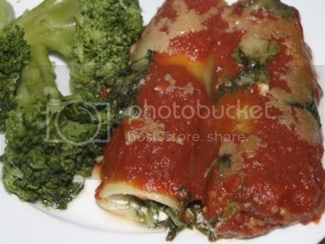 Spinach & Cheese Cannelloni sm