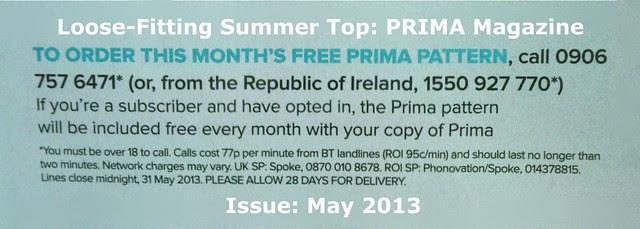 Prima Magazine - Pattern, May 2013 (04)