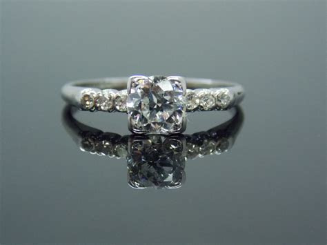 very high end diamond rings   Platinum Simple Art Deco