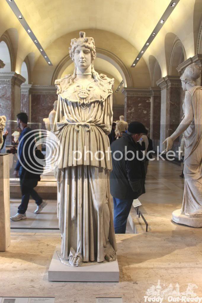 Paris Museum Statue