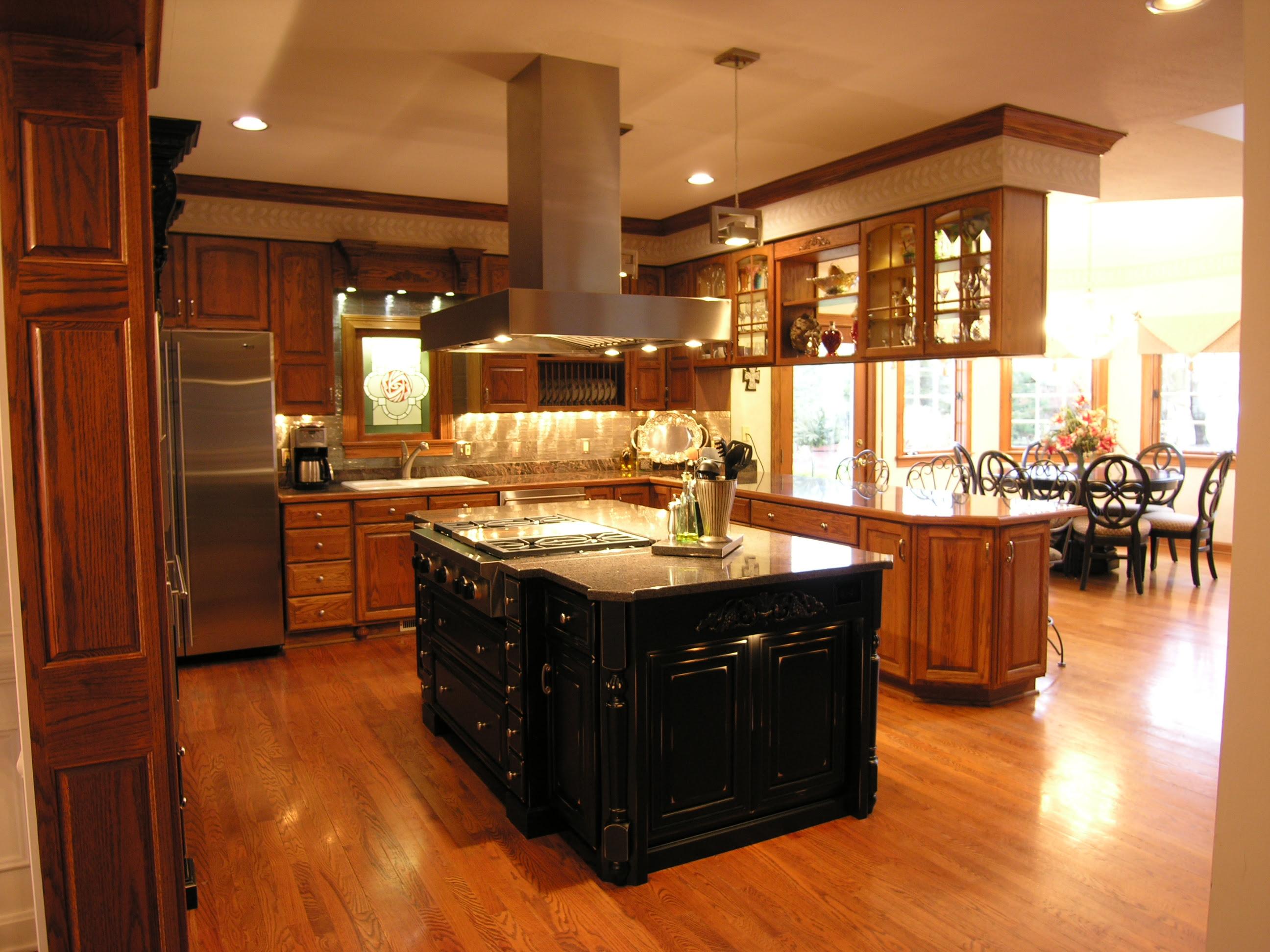 kitchen island hood – RMD Designs
