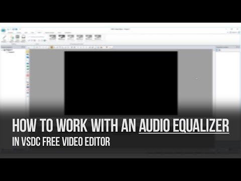 Hot Special Offer: How to work with an audio equalizer in