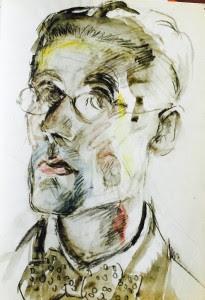 le corbusier autoretrato