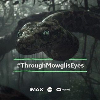 Disney The Jungle Book VR Experience Through Mowgli's Eyes