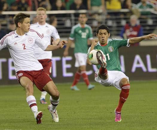 MEXICO 1 - DINAMARCA 1