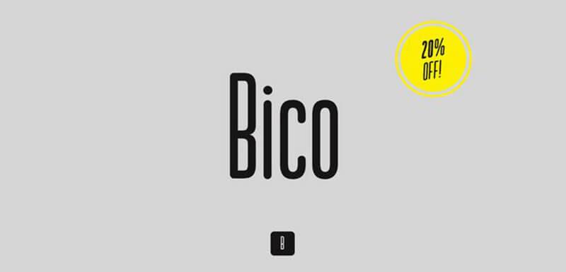 bico-font-family