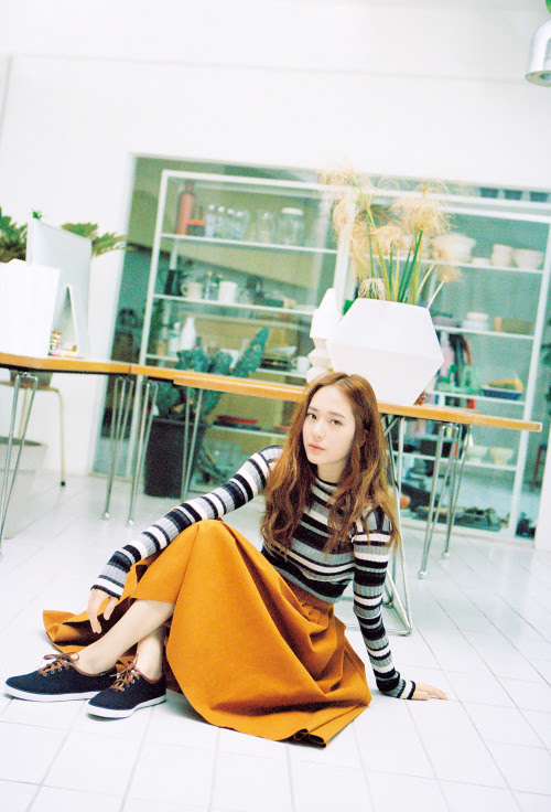 [MAGAZINE] F(x) Krystal – Nylon Magazine October Issue '15 2000x2945