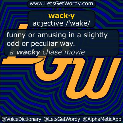 wacky 06/24/2018 GFX Definition