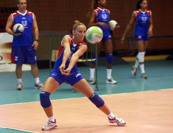 Posicionamento e deslocamento no Voleibol