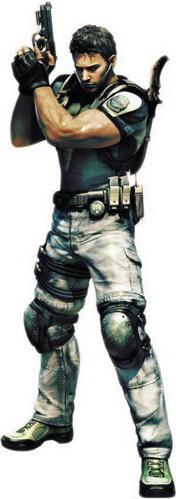 3 chris redfield re5 Top 20 personagens masculinos mais bonitos dos games