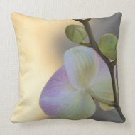 Pink Orchid Expression throwpillow
