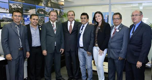 Jose Agripino com prefeitos
