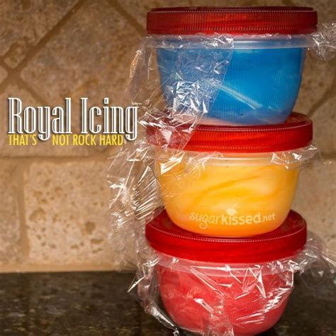 Royal Icing That Doesn't Dry Rock Hard   Recipe   Best