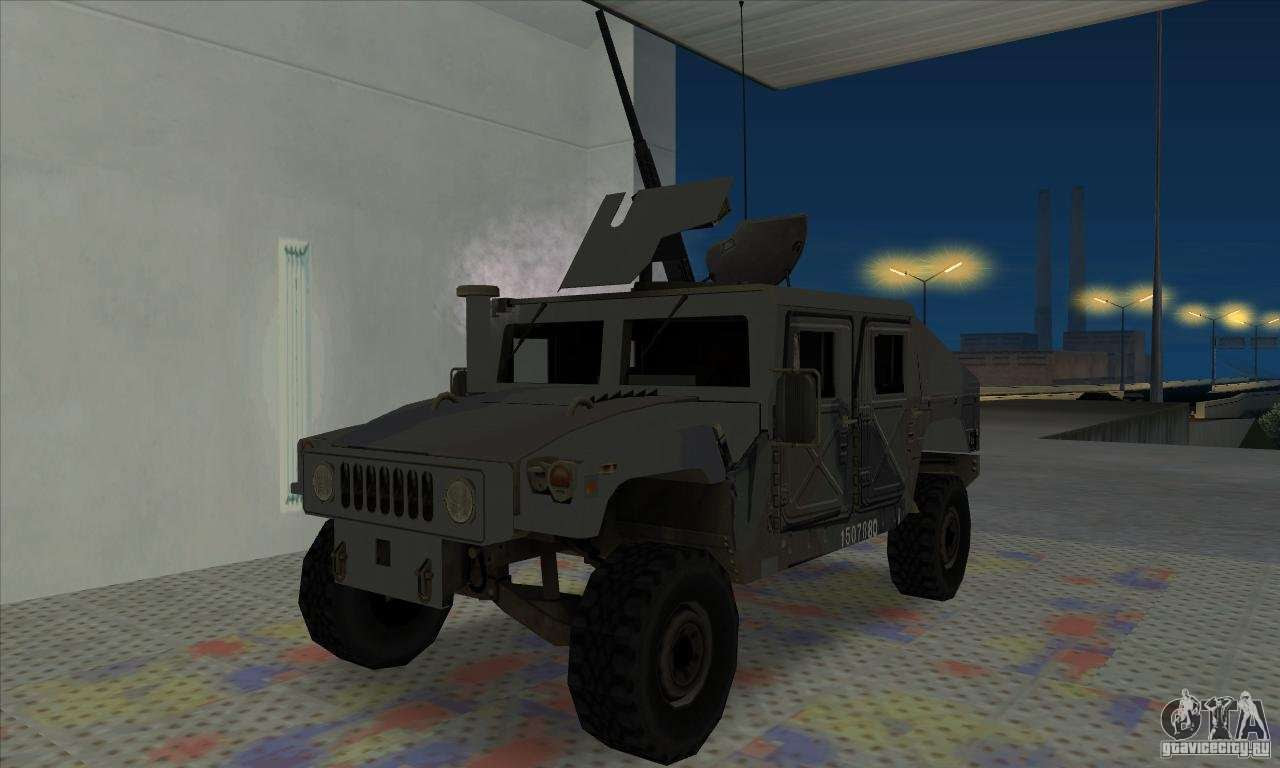 Humvee Of Mexican Army For Gta San Andreas