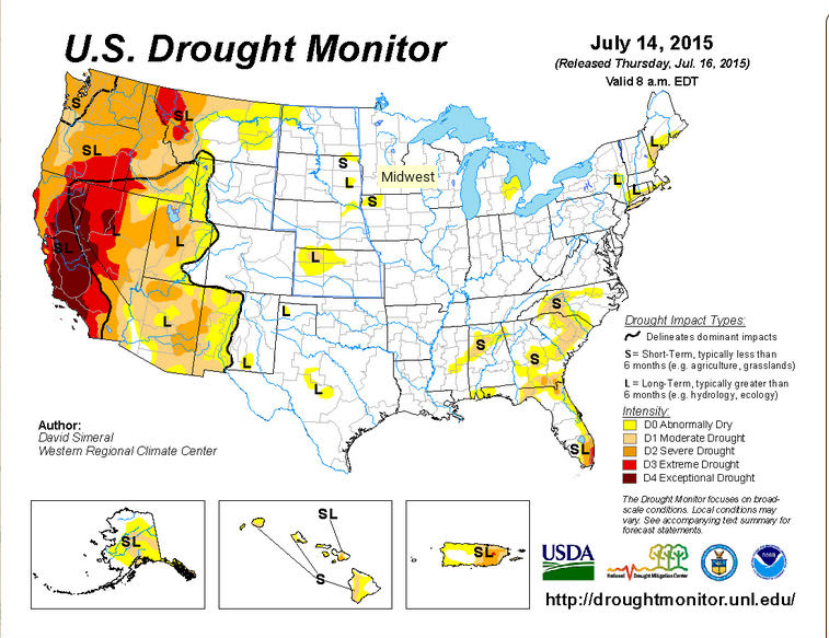 Flooding Drought Comes To California Musings From The