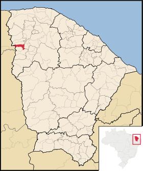 Localização de São Benedito