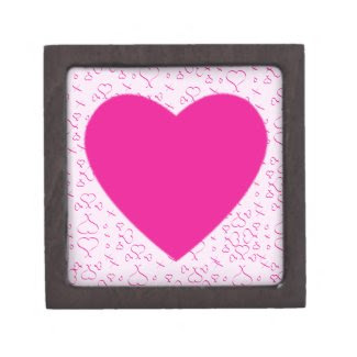 Hearts Love And Kisses Premium Jewelry Box