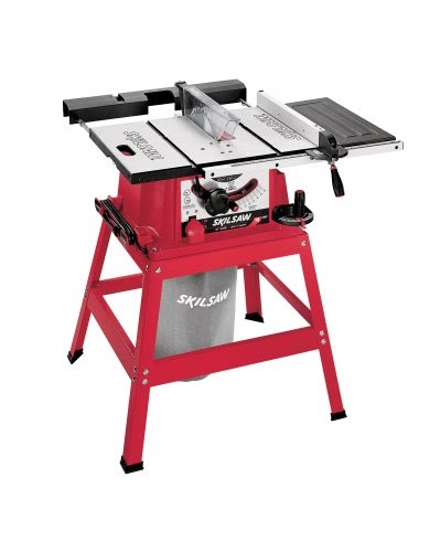 Skil 3400 15 15 Amp 10 Inch Table Saw With Stand And Dust