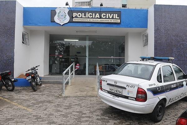 Motorista foi encaminhado para delegacia da Serra (Foto: Ricardo Medeiros/ A Gazeta (Arquivo))