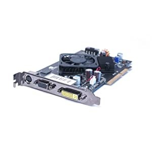 XFX nVidia GeForce 7600 GS 256 MB DDR2 CW340 P508 AGP Graphics Card.